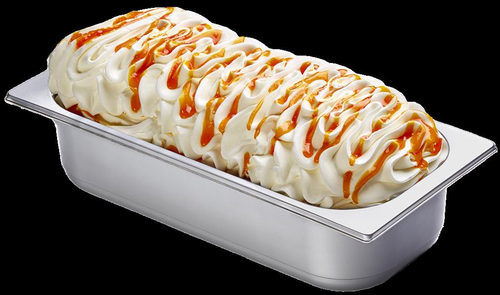 Joghurt Orange Eis