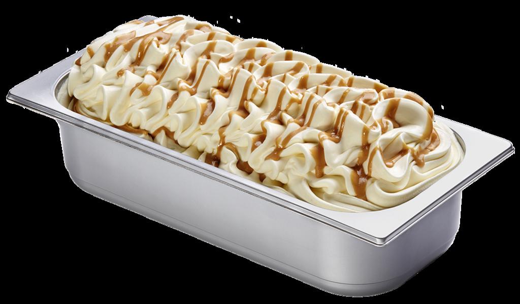 Rosmarin Schmand Honig Eis