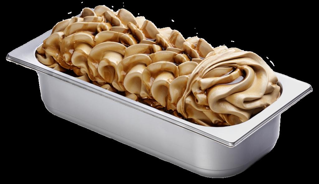 Sahne Caramel Eis